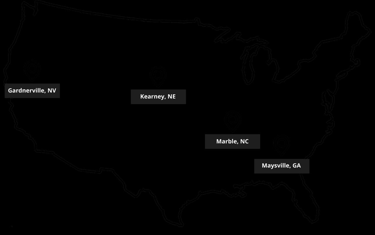 TeslaWatt Facilities